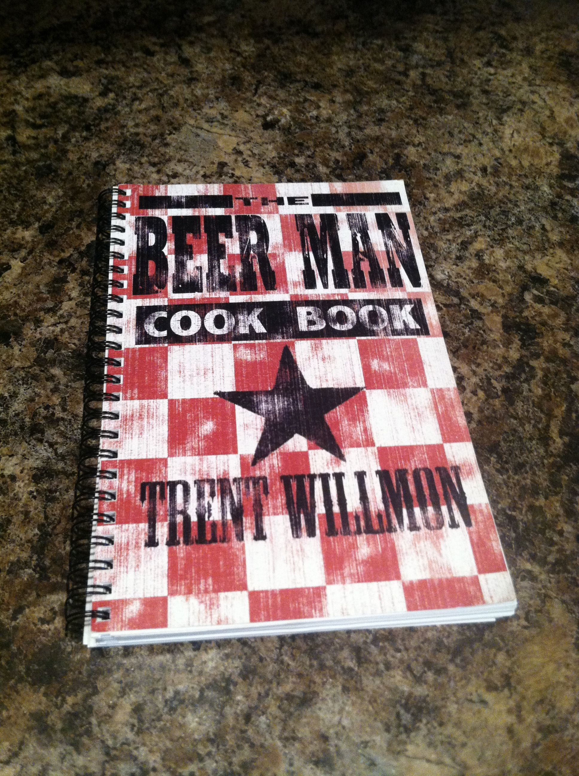 My favorite cookbook. Recipes from Trent Willmon, Eric Church, Luke Bryan... Need I go on? :)