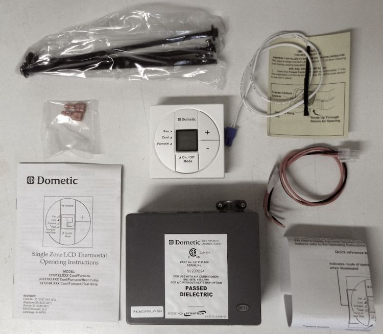Dometic 3313189000 single zone lcd thermostat and control kit dometic 3313189000 single zone lcd thermostat and control kit polar white trail sciox Gallery