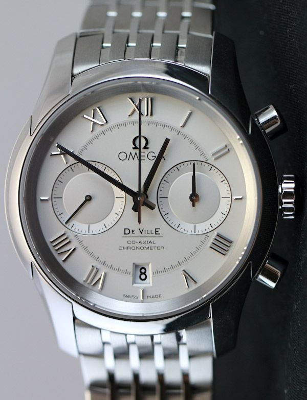 31782584700 Omega De Ville Co Axial Chronograph Watch Review omega  9k in house movement