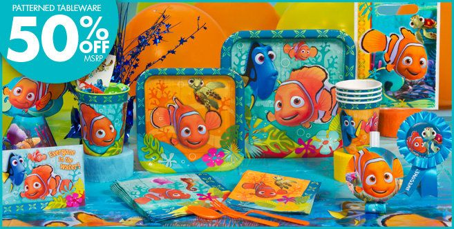 Finding Nemo Party Supplies Birthday Decorations
