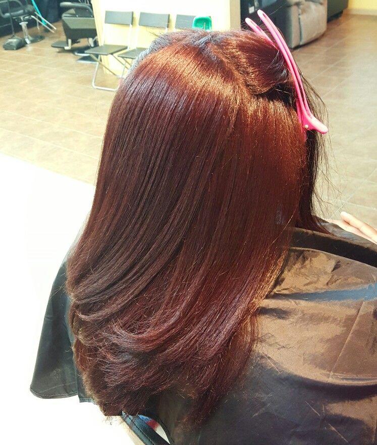 Silk Blowout Color On Natural Hair Ig Katahlia Pinterest