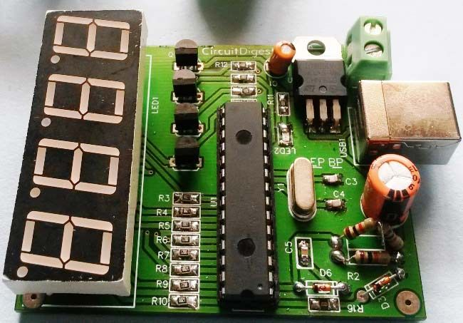 Soldering components on PCBs for Car Battery Voltage monitoring