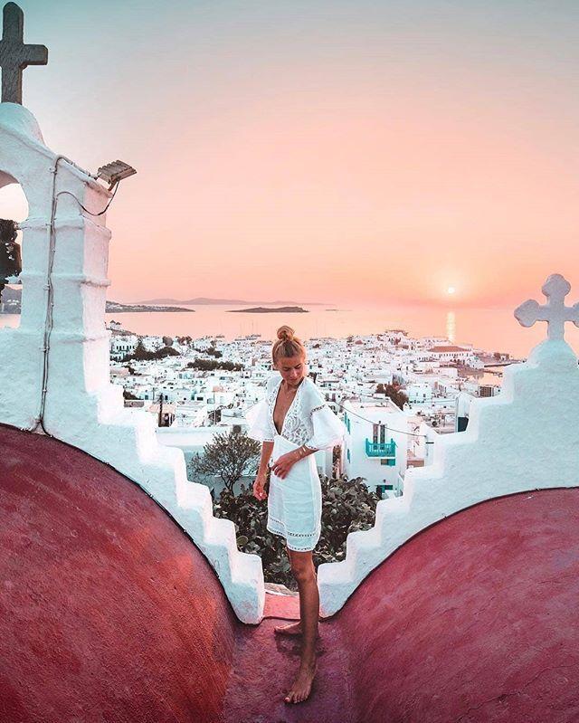Location: Mykonos Cyclades Islands Greece Photo: @debiflue ...