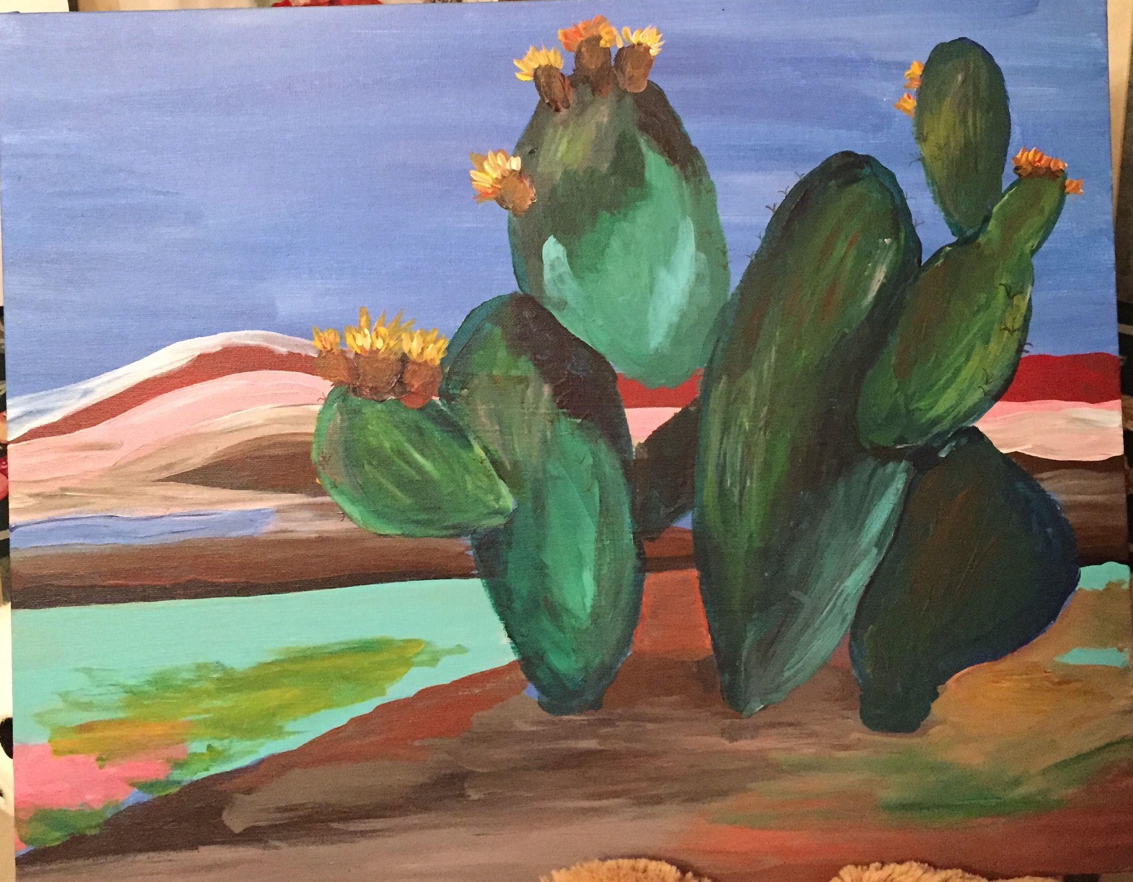 Cactus with tunas