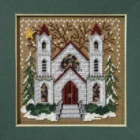 Clock Shoppe Cross Stitch Kit Mill Hill 2010 Buttons /& Beads Winter