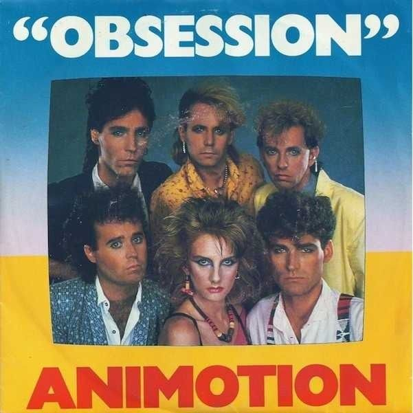 ANIMOTION - OBSESSION\ | Righteous 80's | Eighties music