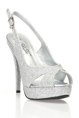 Maybe something simple like this... | Shoes | Pinterest | Silver ...