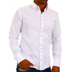Heren Overhemd Wit.Heren Overhemd Wit Red Bridge Voor 39 95 Gratis Verzenden Heren