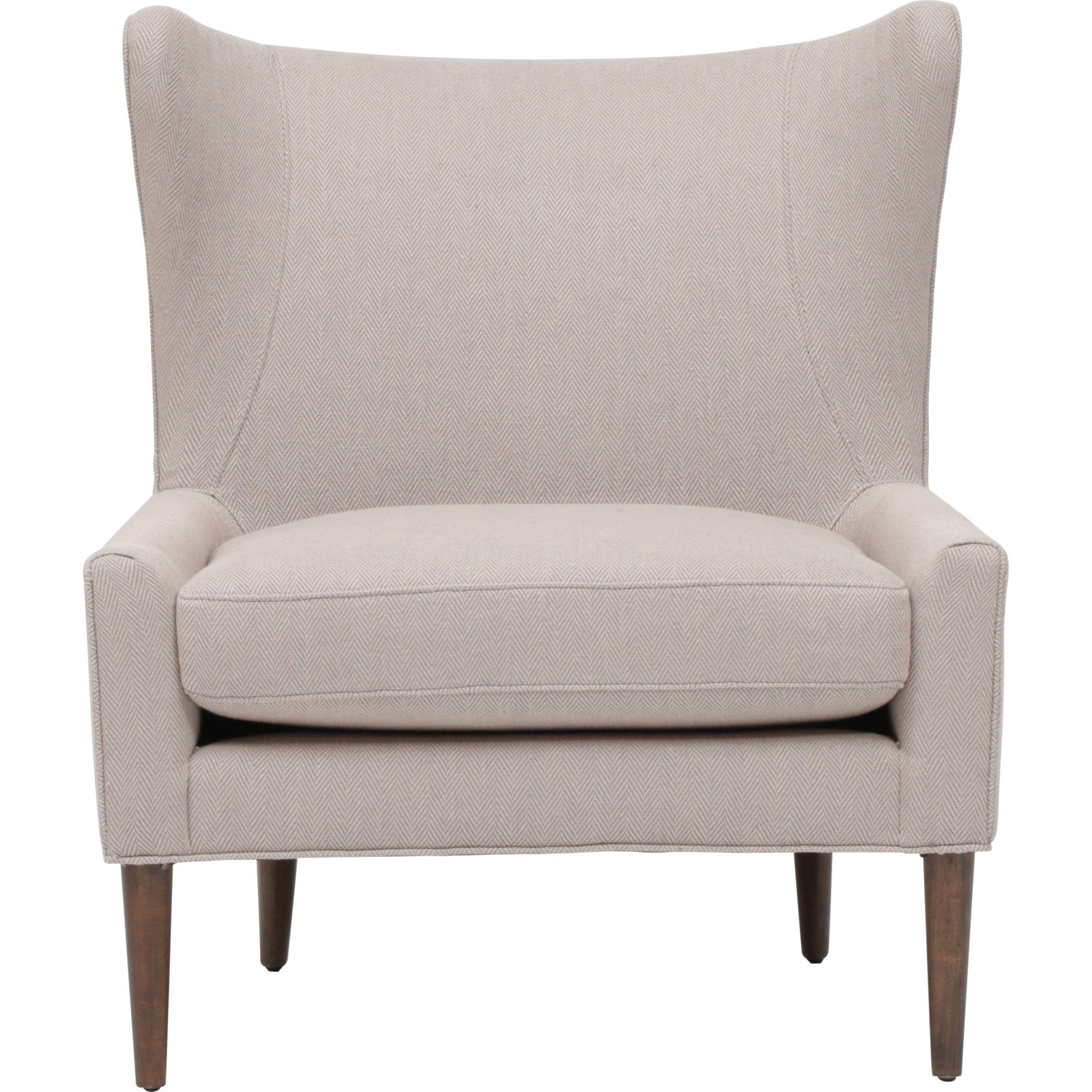 Chevron wing chairs - Marlow Wing Chair Grey Chevron Flash Sale Furniture