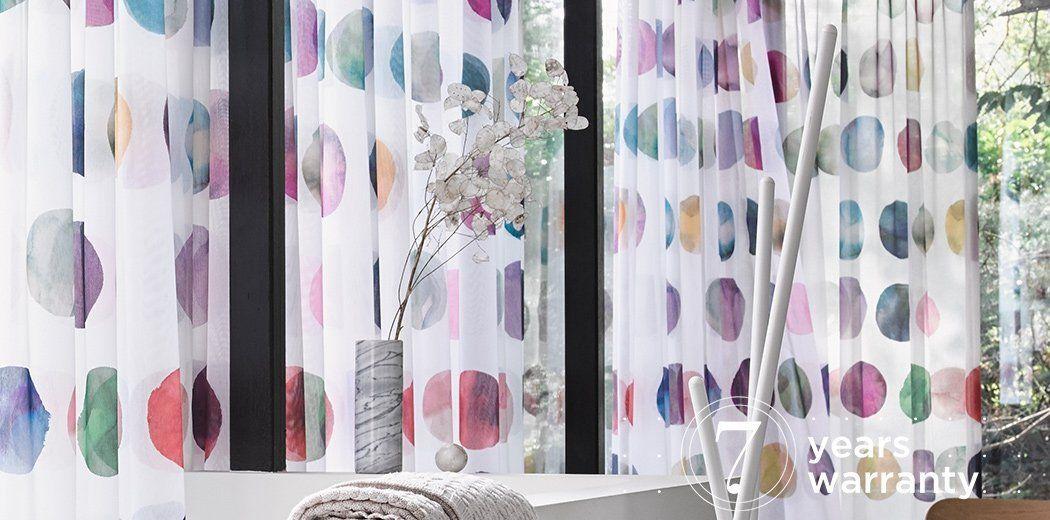 Toppoint Gordijn Dots Gordijnen Raambekleding Raamdecoratie