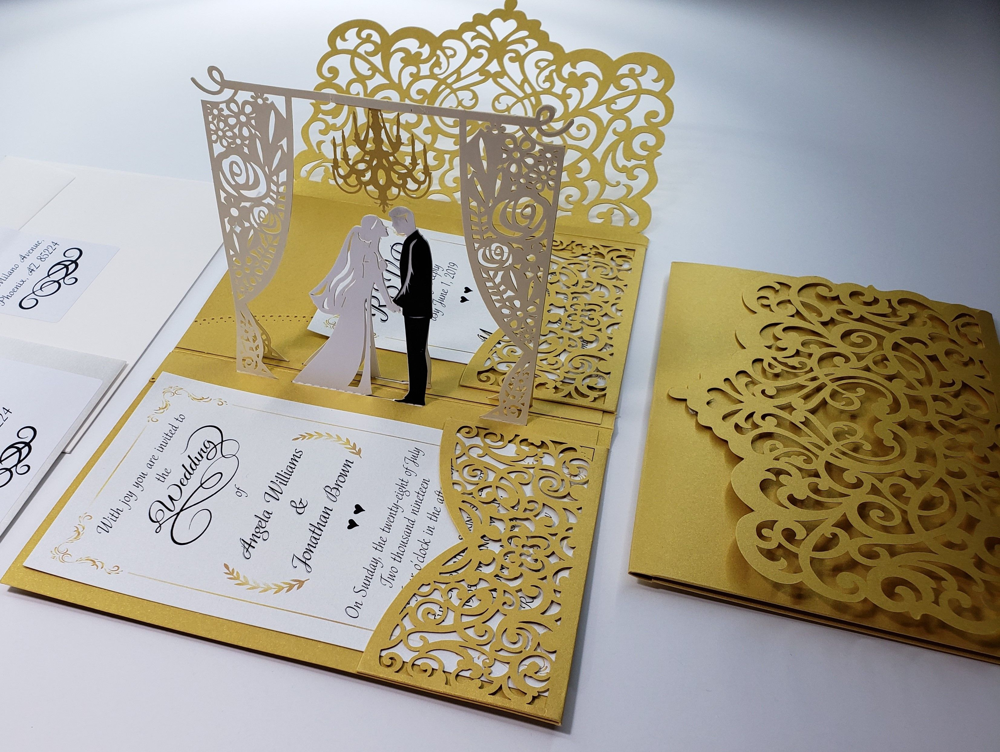 wedding invitations by tada cards