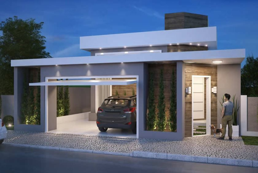 Home Design 10x30m With 3 Bedrooms Home Design With Plansearch House House With Porch House Design