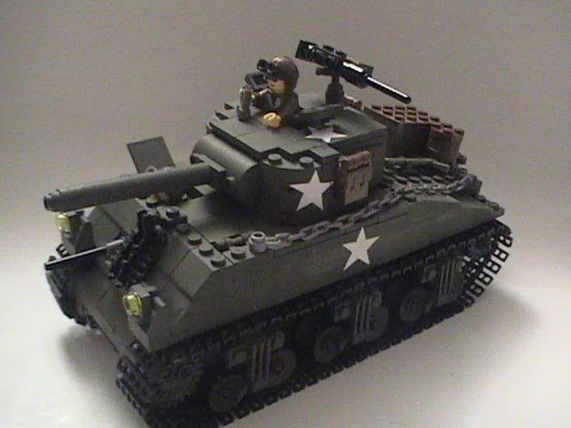 World War Two Sherman Tank Lego Army Lego War Lego Military