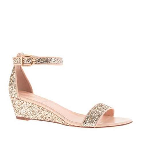 Explore Wedge Wedding Shoes Gold Wedges And More