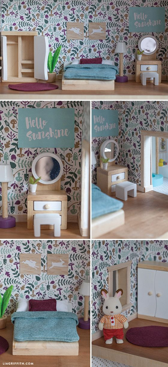 make your own doll furniture. Give A Home - Make Your Own Dollhouse Lia Griffith Doll Furniture