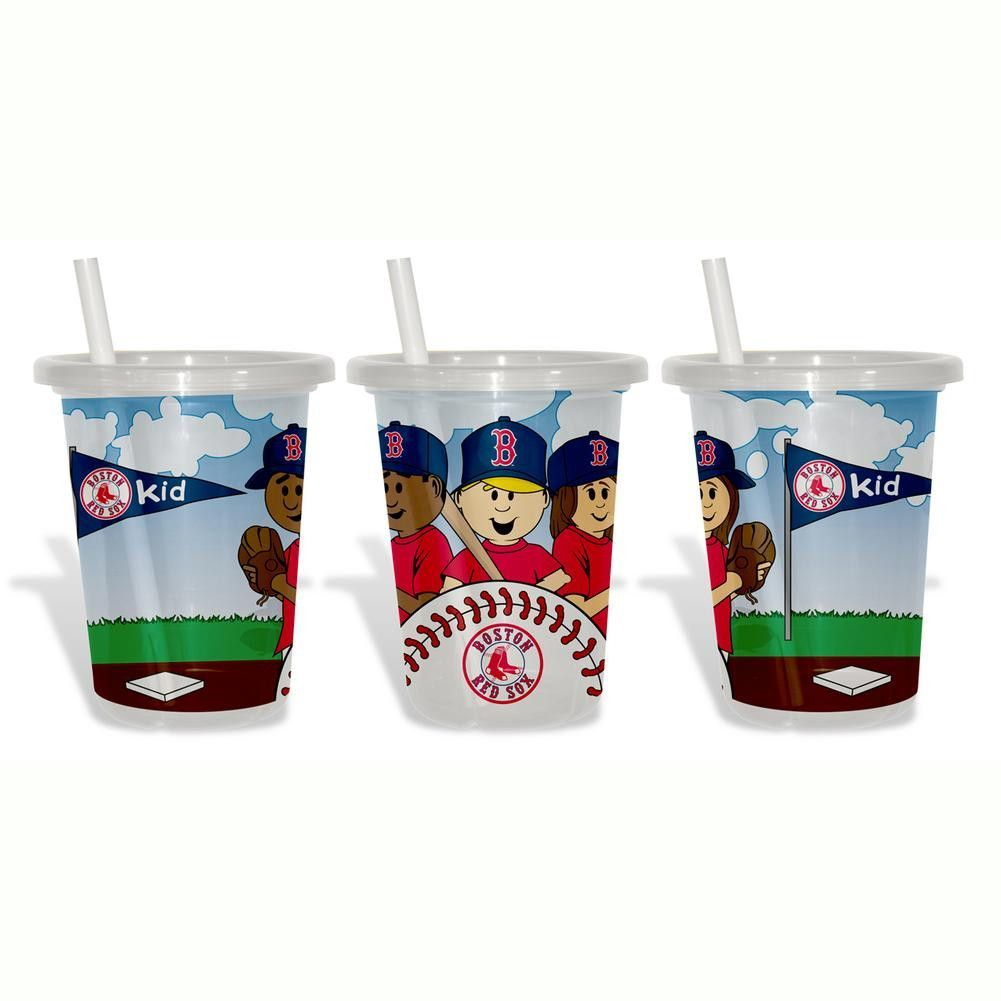 Baby Fanatic Sip N Go 3 Pack of Cups - Boston Red Sox