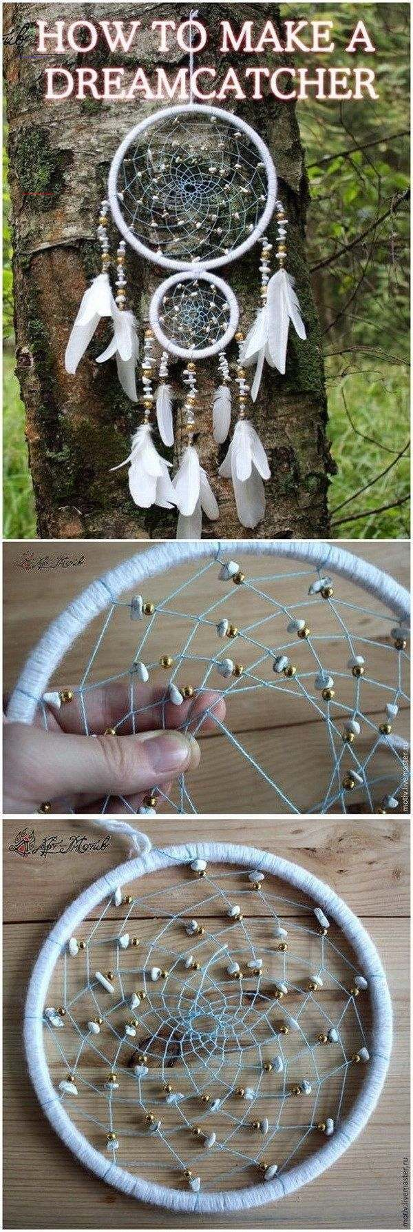 Photo of Gorgeous DIY Dreamcatcher Ideas and Tutorials – For Creative Juice This one is m…