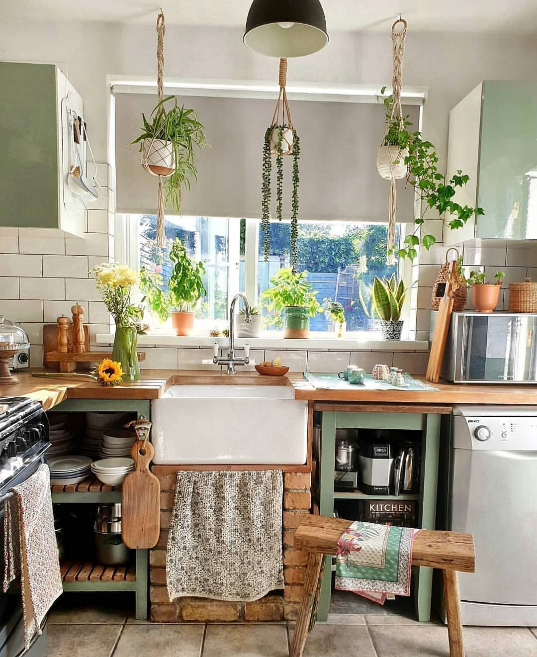 26+ Earthy kitchen decorating ideas trends