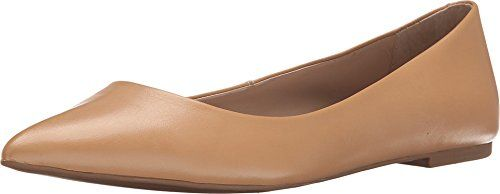 Steve Madden Donna Klaraa Nude Pelle Flat 75 M more *** Find out more M 1f865d