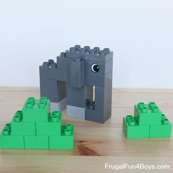 lego duplo jungle instructions