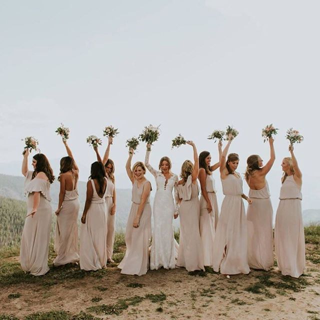 1ce219add Wedding fun with @kara_posey + her maids all dressed in Show Me The Ring!  #mumuweddings