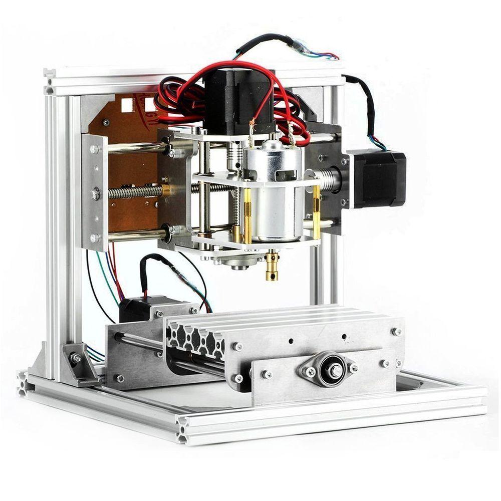 CNC Router Machine, 3 Axis DIY CNC Engraving Machine PCB
