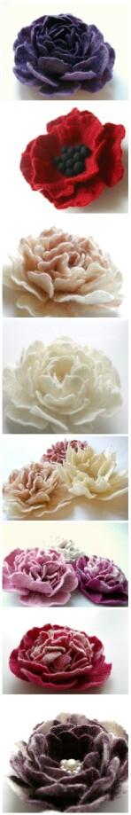 Diferentes flores...