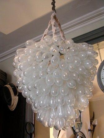 Balloon chandelier outdoor wedding gazebo wedding for Balloon chandelier decoration