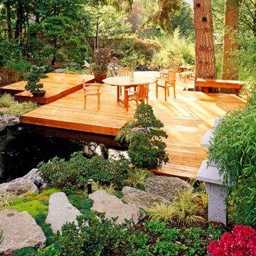 Decks Over Ponds Deck Over Pond Decks Backyard Floating Deck