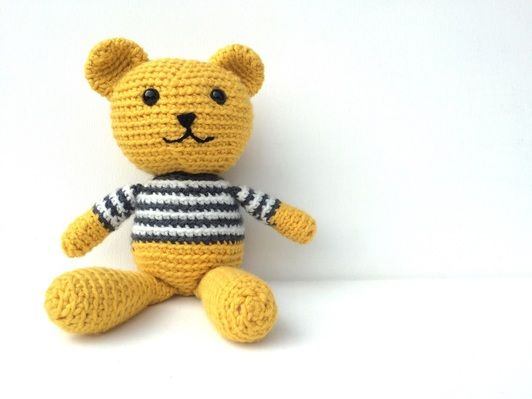 amigurumi pattern free, crochet bear pattern, teddy bear free animal ...