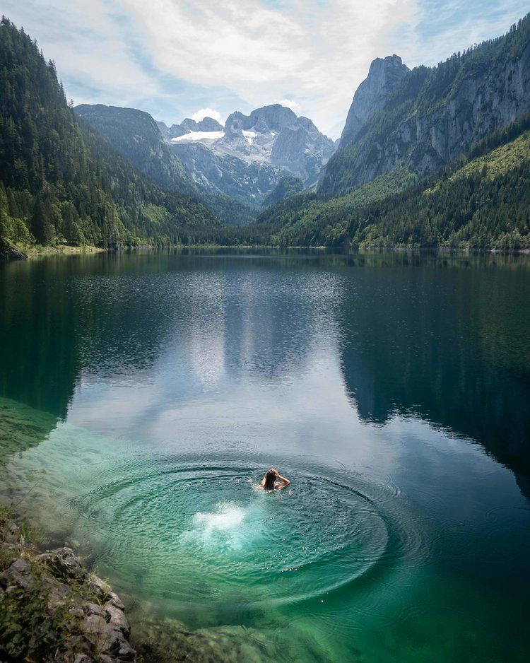 Lake Gosausee in Austria