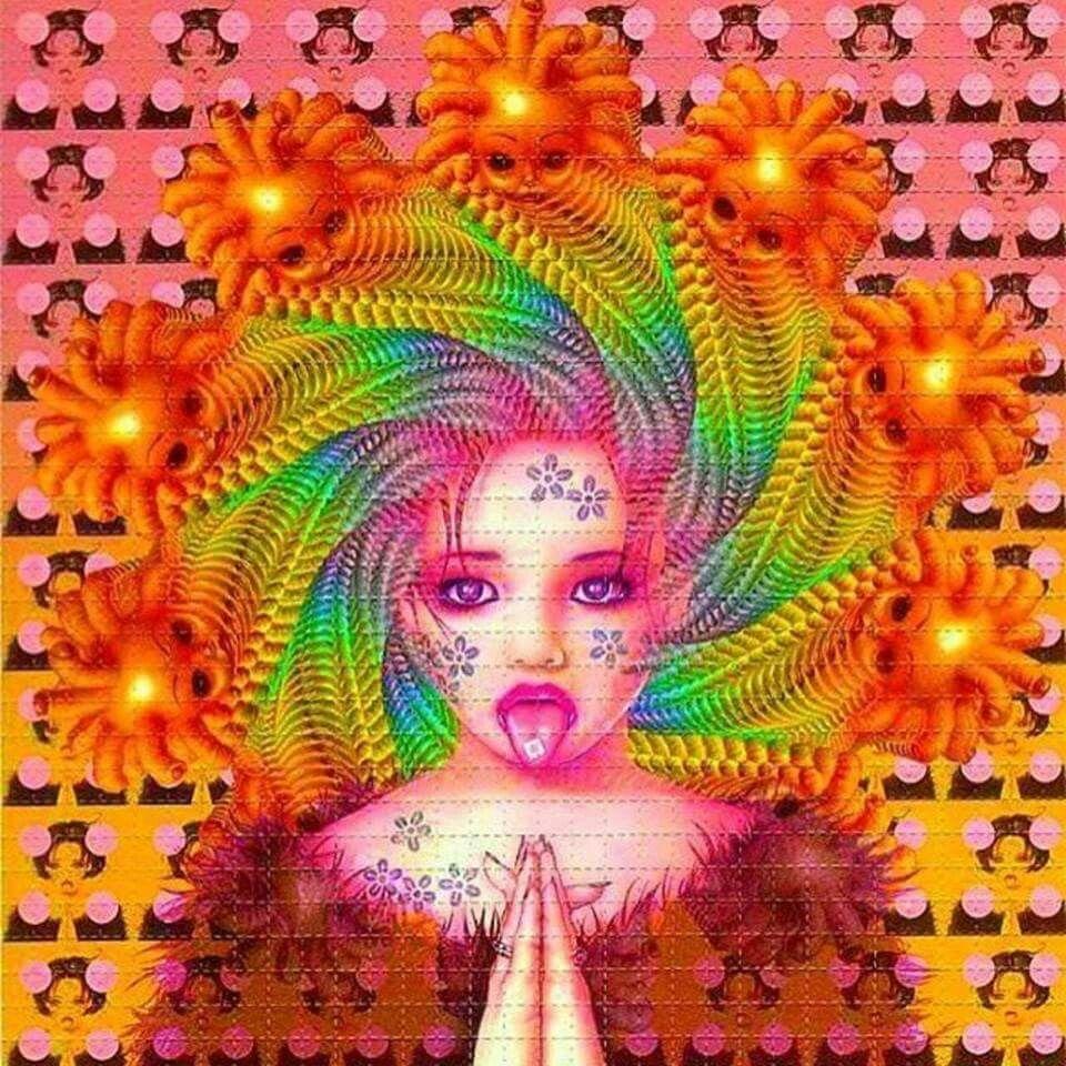 lsd blotter paper art psychedelia pinterest inspiring art and
