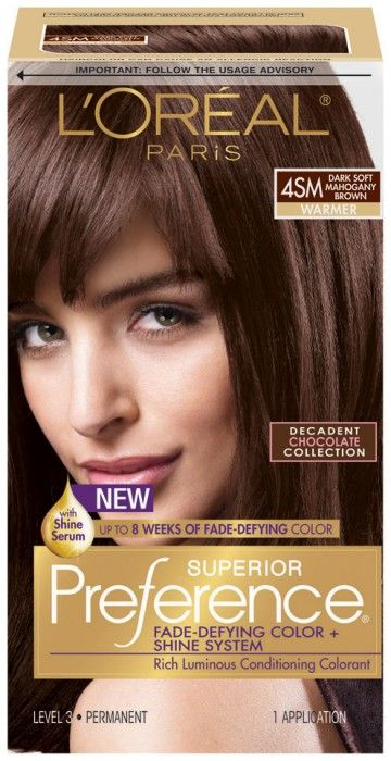 Beauty Idea I Rejected Deep Soft Mahogany Brown Hair Color Back