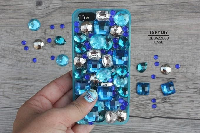 Bedazzle your iPhone case
