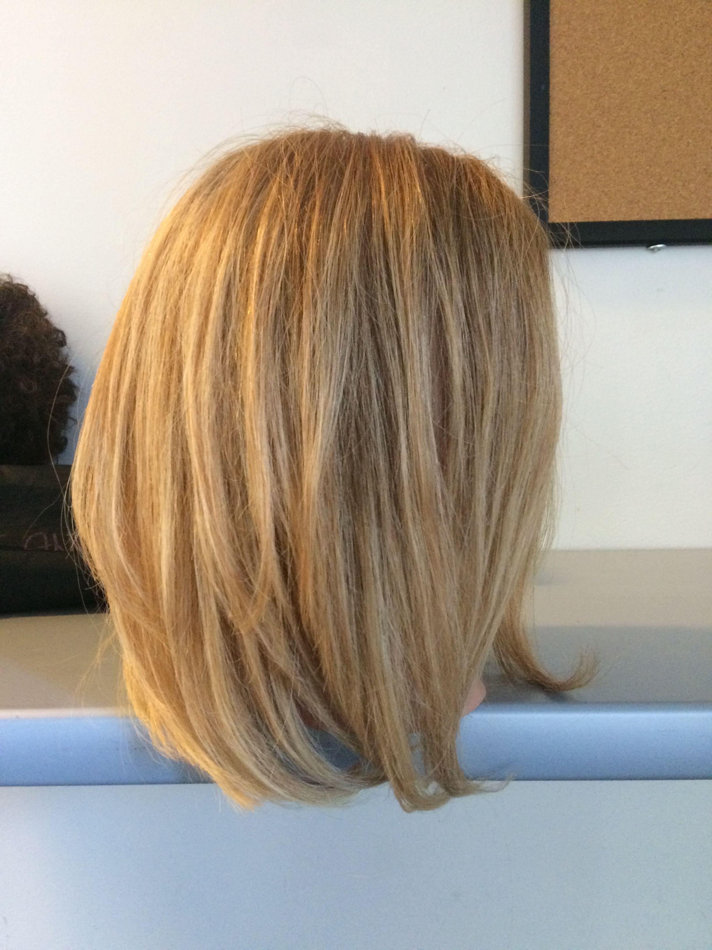 Triangular Layer One Length Hair One Length Haircuts Hair Styles 2016
