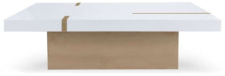 Band square coffee table ivorygold 299500 coffee