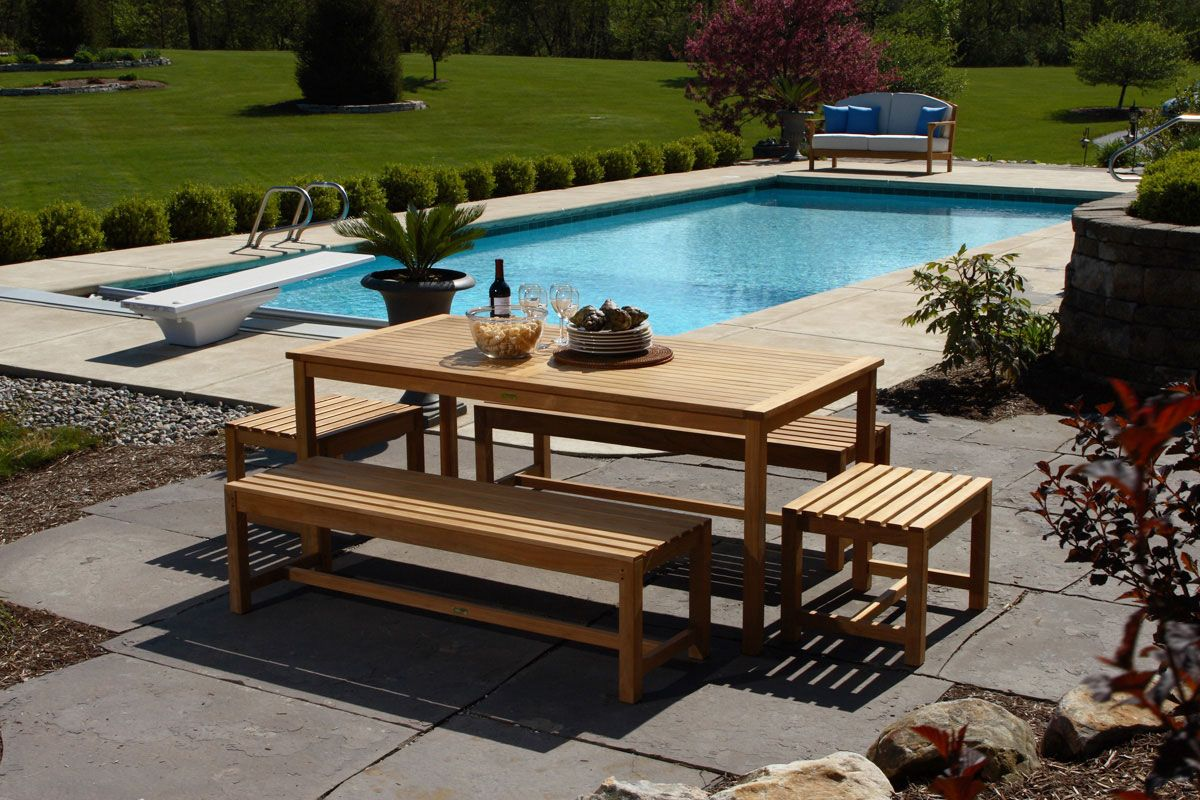 How To Choose The Best Material For Outdoor Furniture Teak Outdoor Furniture Outdoor Furniture Cushions Teak Outdoor
