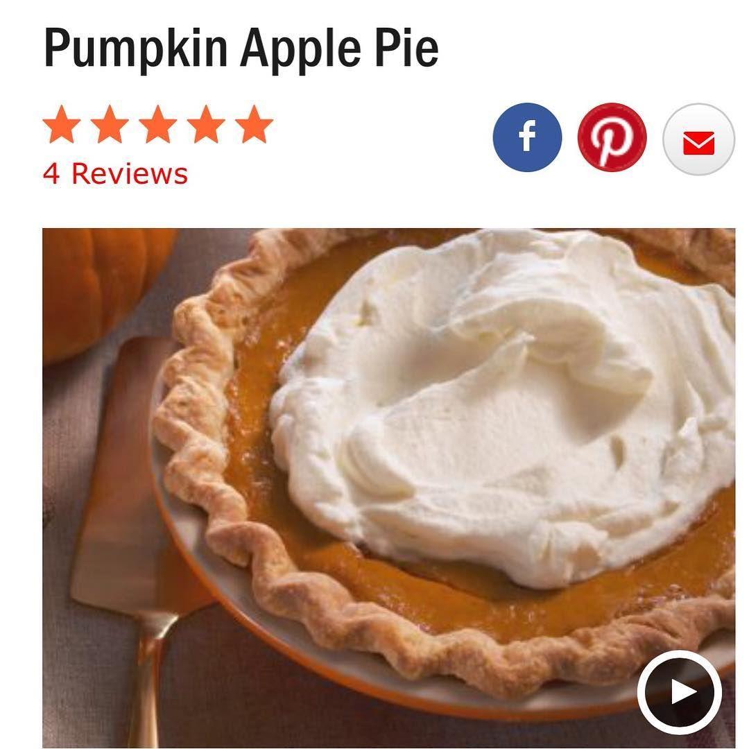#totally #yum #unique #pumpkin #apple #pie