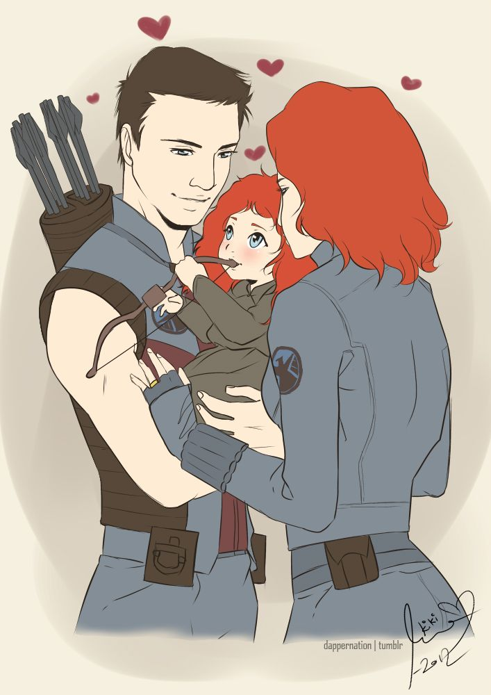 Avengers Brave Crossover Merida Is The Daughter Of Clint