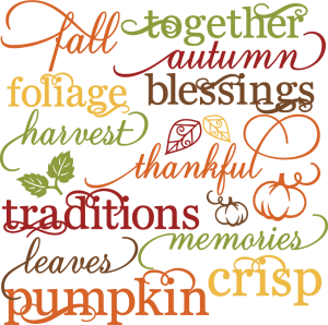 Fall Miss Kate Cuttables Product Categories Scrapbooking Svg Files Digital Scrapbooking Cute Clipart Daily Sv Fall Words Scrapbook Titles Fall Scrapbook