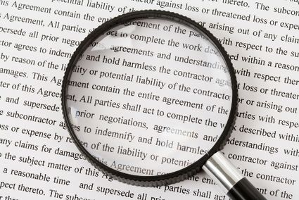 Cloud computing Reading the fine print in your service agreement - service agreement