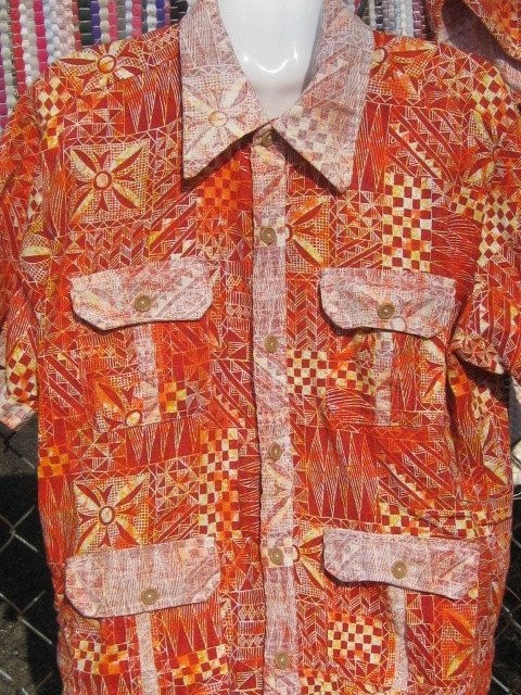 a48f4adce4 Vintage Mens Swimwear Cabana Set Shirt Trunks Beach by DOLL007, $85.00