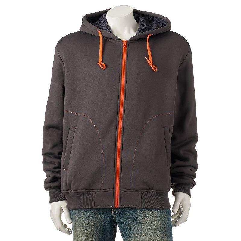 bb0786f541bf3 Men's Courage Clothing Co. Fleece Hoodie, Size: Medium, Grey (Charcoal)