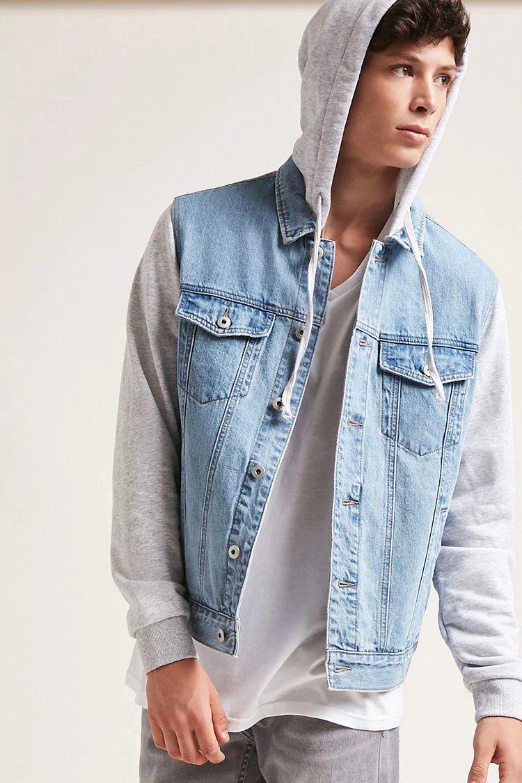 Product Name Combo Denim Jacket Category Clearance Zero Price 37 9 Moda Masculina Dicas Moda Masculina Roupas [ 1125 x 750 Pixel ]