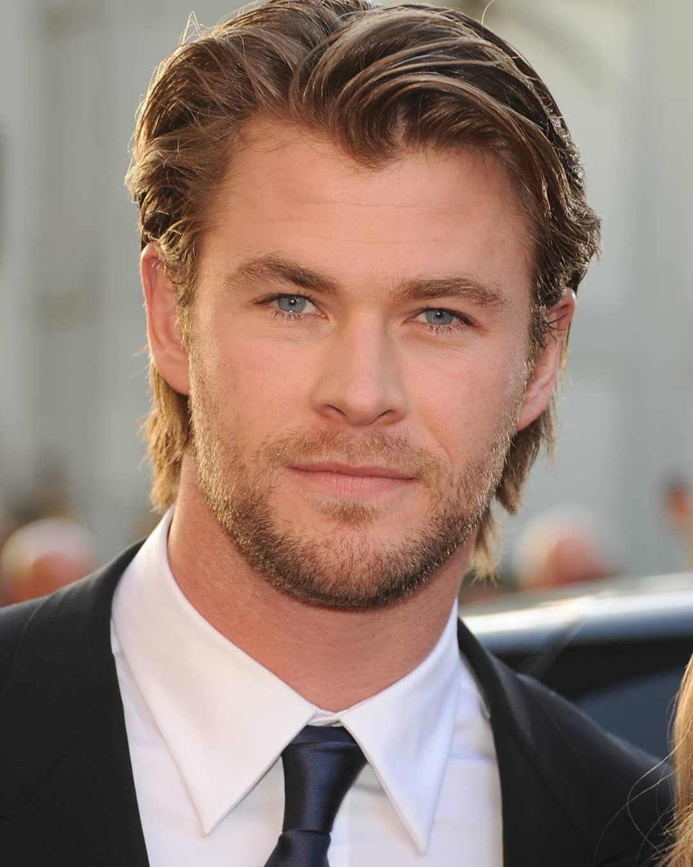 Chris Hemsworth At Thor Los Angeles Premiere 2011 Chrishemsworth Chrisevans Elsapataky Ave In 2020 Chris Hemsworth Hair Growing Hair Men Top Haircuts For Men