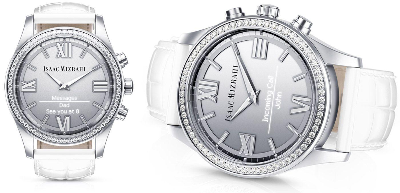 HP 的智慧型手錶有著透視螢幕,而且鑲嵌了 Swarovski 水晶