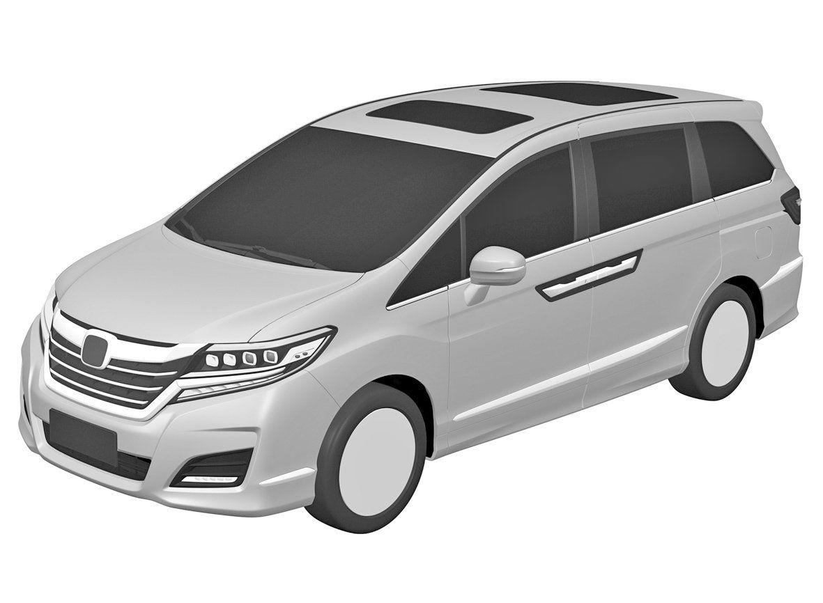 Honda minivan patent images 01