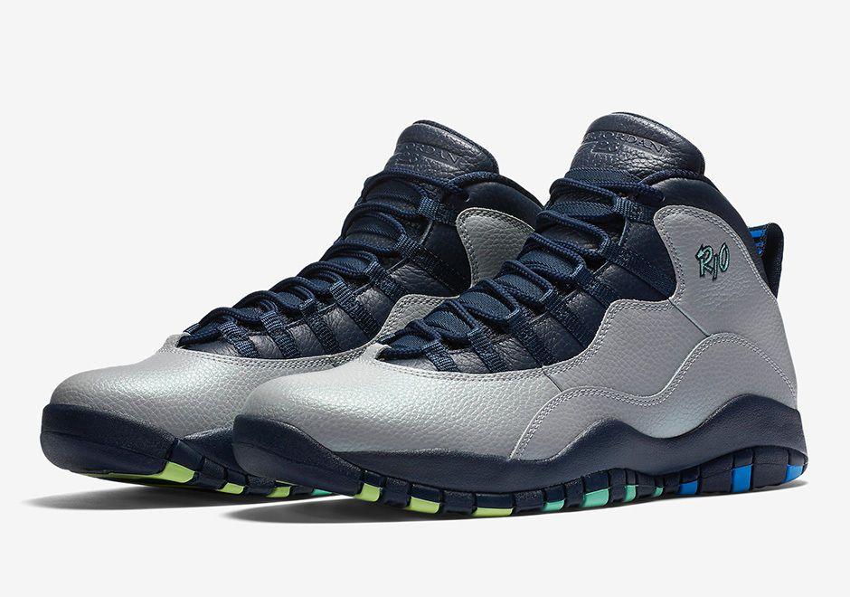 the latest e8d2b 7e99f Air Jordan 10 X Rio 310805-019 DS SIZES 7.5 - 12.5  JORDAN  AthleticSneakers