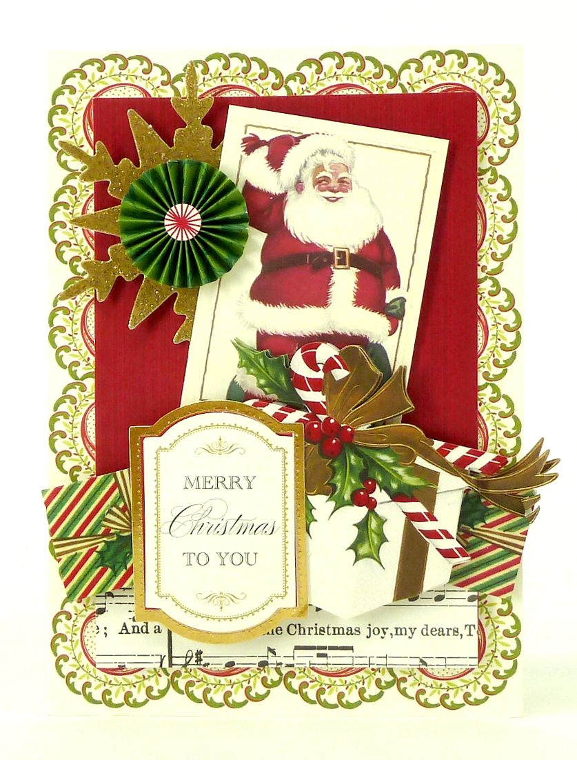 Anna Griffin Holiday Trimmings Cardmaking Kit At Hsn Com Anna Griffin Christmas Cards Anna Griffin Cards Christmas Card Inspiration