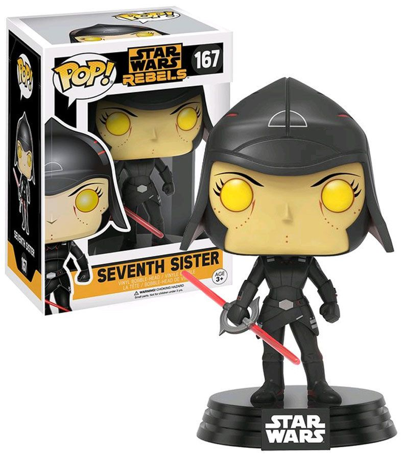 Funko Pop Star Wars Rebels 167 Seventh Sister Walmart Exclusive Import New Mint Condition Funko Pop Star Wars Star Wars Rebels Funko Pop